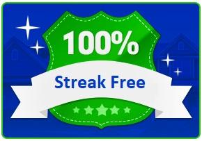 100% Streak Free